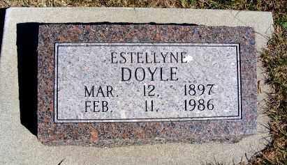 DOYLE, ESTELLYNE - Frontier County, Nebraska | ESTELLYNE DOYLE - Nebraska Gravestone Photos