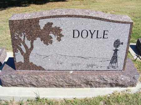 DOYLE, FAMILY - Frontier County, Nebraska | FAMILY DOYLE - Nebraska Gravestone Photos