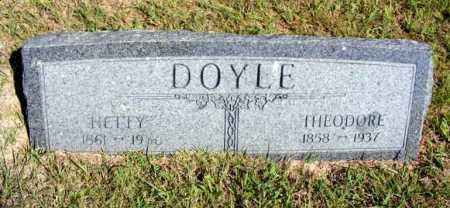 DOYLE, THEODORE - Frontier County, Nebraska | THEODORE DOYLE - Nebraska Gravestone Photos