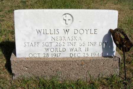 DOYLE, WILLIS W. - Frontier County, Nebraska | WILLIS W. DOYLE - Nebraska Gravestone Photos