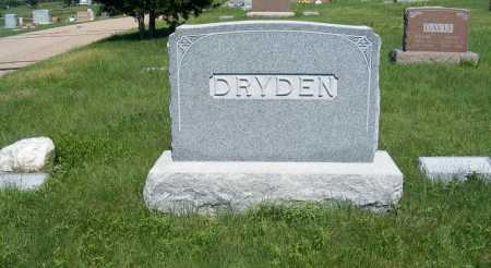 DRYDEN, FAMILY - Frontier County, Nebraska | FAMILY DRYDEN - Nebraska Gravestone Photos