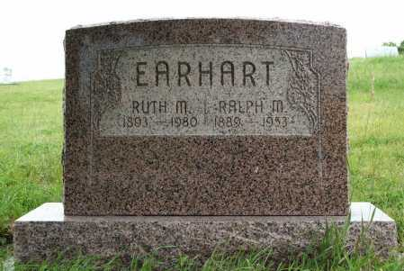 EARHART, RALPH M. - Frontier County, Nebraska | RALPH M. EARHART - Nebraska Gravestone Photos