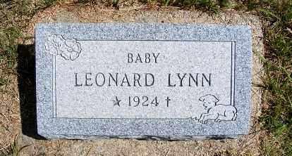 EARL, LEONARD LYNN - Frontier County, Nebraska | LEONARD LYNN EARL - Nebraska Gravestone Photos