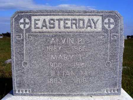 EASTERDAY, LILLIAN M. - Frontier County, Nebraska | LILLIAN M. EASTERDAY - Nebraska Gravestone Photos