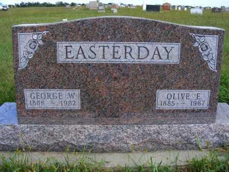 EASTERDAY, GEORGE W. - Frontier County, Nebraska | GEORGE W. EASTERDAY - Nebraska Gravestone Photos