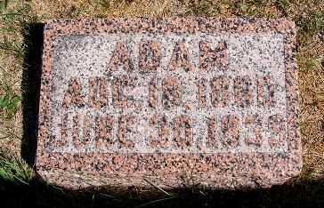EISENBARGER, ADAM - Frontier County, Nebraska | ADAM EISENBARGER - Nebraska Gravestone Photos