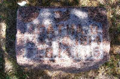 EISENBARGER, AGATHA O. - Frontier County, Nebraska | AGATHA O. EISENBARGER - Nebraska Gravestone Photos