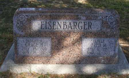 EISENBARGER, FRED M. - Frontier County, Nebraska | FRED M. EISENBARGER - Nebraska Gravestone Photos