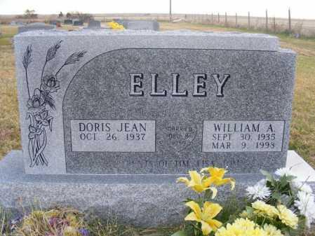 WEBER ELLEY, DORIS JEAN - Frontier County, Nebraska | DORIS JEAN WEBER ELLEY - Nebraska Gravestone Photos