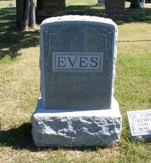 EVES, FAMILY - Frontier County, Nebraska | FAMILY EVES - Nebraska Gravestone Photos