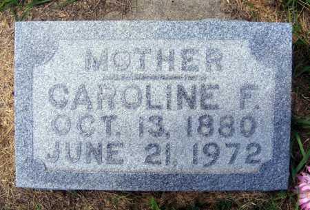 FASSE, CAROLINE F. - Frontier County, Nebraska | CAROLINE F. FASSE - Nebraska Gravestone Photos