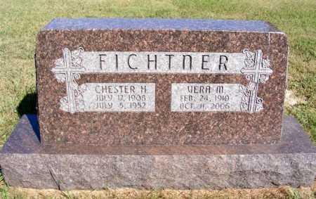 FICHTNER, CHESTER H. - Frontier County, Nebraska | CHESTER H. FICHTNER - Nebraska Gravestone Photos