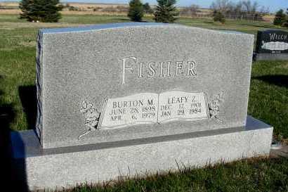 FISHER, LEAFY Z. - Frontier County, Nebraska   LEAFY Z. FISHER - Nebraska Gravestone Photos