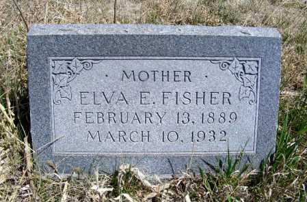 FISHER, ELVA E. - Frontier County, Nebraska | ELVA E. FISHER - Nebraska Gravestone Photos