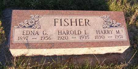 FISHER, EDNA G. - Frontier County, Nebraska | EDNA G. FISHER - Nebraska Gravestone Photos