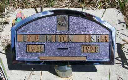 FISHER, LYLE MILTON - Frontier County, Nebraska | LYLE MILTON FISHER - Nebraska Gravestone Photos