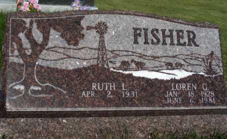 FISHER, RUTH L. - Frontier County, Nebraska | RUTH L. FISHER - Nebraska Gravestone Photos