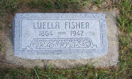 FISHER, LUELLA - Frontier County, Nebraska | LUELLA FISHER - Nebraska Gravestone Photos
