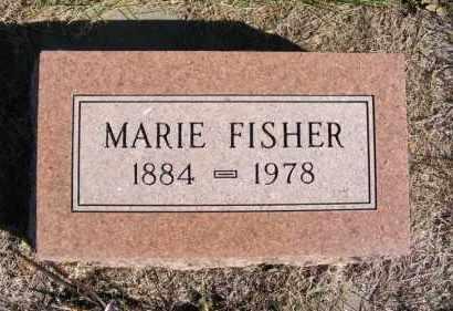 FISHER, MARIE - Frontier County, Nebraska | MARIE FISHER - Nebraska Gravestone Photos