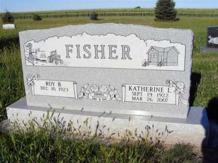 FISHER, KATHERINE L. - Frontier County, Nebraska | KATHERINE L. FISHER - Nebraska Gravestone Photos
