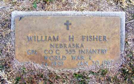 FISHER, WILLIAM H. - Frontier County, Nebraska | WILLIAM H. FISHER - Nebraska Gravestone Photos