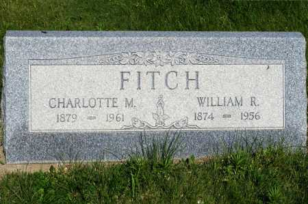 FITCH, CHARLOTTE M. - Frontier County, Nebraska | CHARLOTTE M. FITCH - Nebraska Gravestone Photos