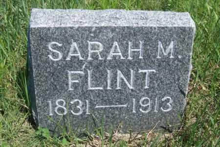 SUITS FLINT, SARAH M. - Frontier County, Nebraska | SARAH M. SUITS FLINT - Nebraska Gravestone Photos