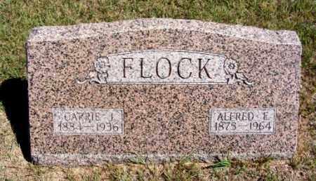 FLOCK, CARRIE I. - Frontier County, Nebraska | CARRIE I. FLOCK - Nebraska Gravestone Photos
