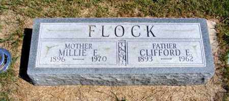 FLOCK, MILLIE E. - Frontier County, Nebraska | MILLIE E. FLOCK - Nebraska Gravestone Photos