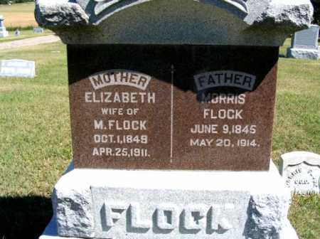 FLOCK, ELIZABETH - Frontier County, Nebraska | ELIZABETH FLOCK - Nebraska Gravestone Photos