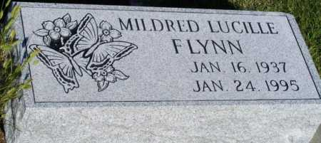 FLYNN, MILDRED LUCILLE - Frontier County, Nebraska | MILDRED LUCILLE FLYNN - Nebraska Gravestone Photos