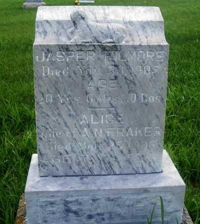 FRAKER, ALICE - Frontier County, Nebraska | ALICE FRAKER - Nebraska Gravestone Photos