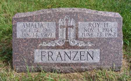 FRANZEN, AMALIA L. - Frontier County, Nebraska | AMALIA L. FRANZEN - Nebraska Gravestone Photos