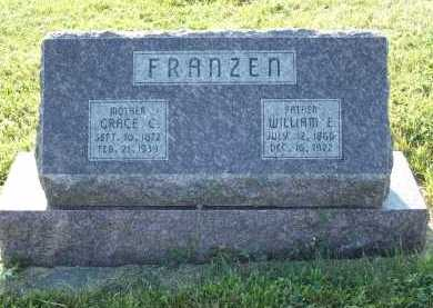FRANZEN, WILLIAM E. - Frontier County, Nebraska | WILLIAM E. FRANZEN - Nebraska Gravestone Photos