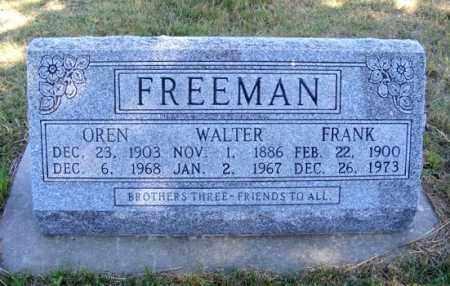 FREEMAN, FRANK - Frontier County, Nebraska | FRANK FREEMAN - Nebraska Gravestone Photos