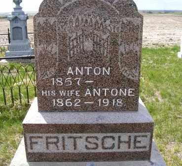FRITSCHE, ANTON - Frontier County, Nebraska   ANTON FRITSCHE - Nebraska Gravestone Photos