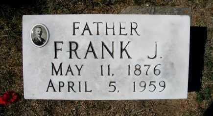 FRITSCHE, FRANK J. - Frontier County, Nebraska | FRANK J. FRITSCHE - Nebraska Gravestone Photos