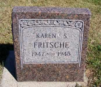 FRITSCHE, KAREN S. - Frontier County, Nebraska   KAREN S. FRITSCHE - Nebraska Gravestone Photos