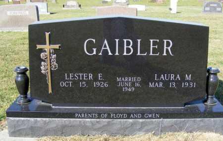 GAIBLER, LAURA M. - Frontier County, Nebraska | LAURA M. GAIBLER - Nebraska Gravestone Photos