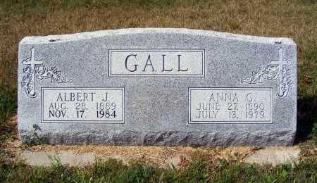 GALL, ALBERT J. - Frontier County, Nebraska | ALBERT J. GALL - Nebraska Gravestone Photos