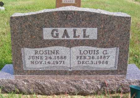 GALL, LOUIS G. - Frontier County, Nebraska   LOUIS G. GALL - Nebraska Gravestone Photos