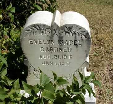GARDNER, EVELYN ISABEL - Frontier County, Nebraska | EVELYN ISABEL GARDNER - Nebraska Gravestone Photos