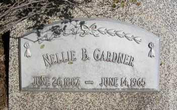 GARDNER, NELLIE B. - Frontier County, Nebraska | NELLIE B. GARDNER - Nebraska Gravestone Photos