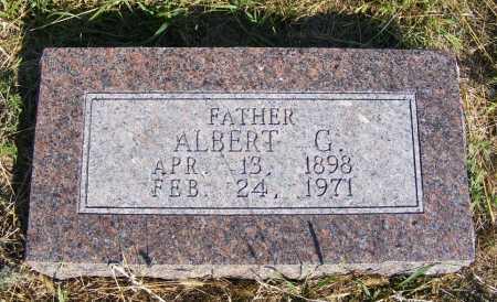 GENGENBACH, ALBERT G. - Frontier County, Nebraska   ALBERT G. GENGENBACH - Nebraska Gravestone Photos