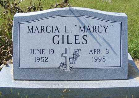 "GILES, MARCIA L. ""MARCY"" - Frontier County, Nebraska | MARCIA L. ""MARCY"" GILES - Nebraska Gravestone Photos"
