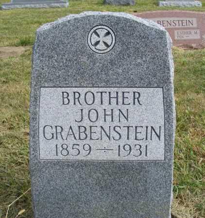 GRABENSTEIN, JOHN - Frontier County, Nebraska | JOHN GRABENSTEIN - Nebraska Gravestone Photos
