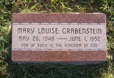 GRABENSTEIN, MARY LOUISE - Frontier County, Nebraska | MARY LOUISE GRABENSTEIN - Nebraska Gravestone Photos