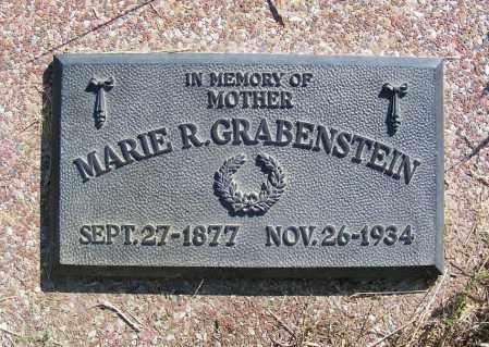 GRABENSTEIN, MARIE R. - Frontier County, Nebraska | MARIE R. GRABENSTEIN - Nebraska Gravestone Photos