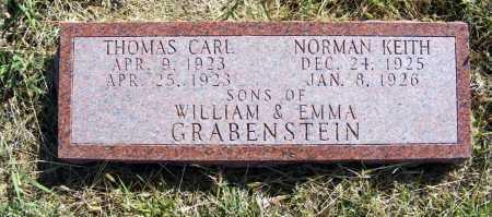 GRABENSTEIN, NORMAN KEITH - Frontier County, Nebraska | NORMAN KEITH GRABENSTEIN - Nebraska Gravestone Photos