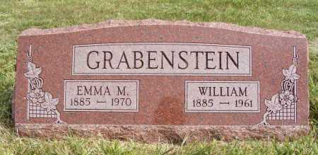 GRABENSTEIN, WILLIAM - Frontier County, Nebraska | WILLIAM GRABENSTEIN - Nebraska Gravestone Photos
